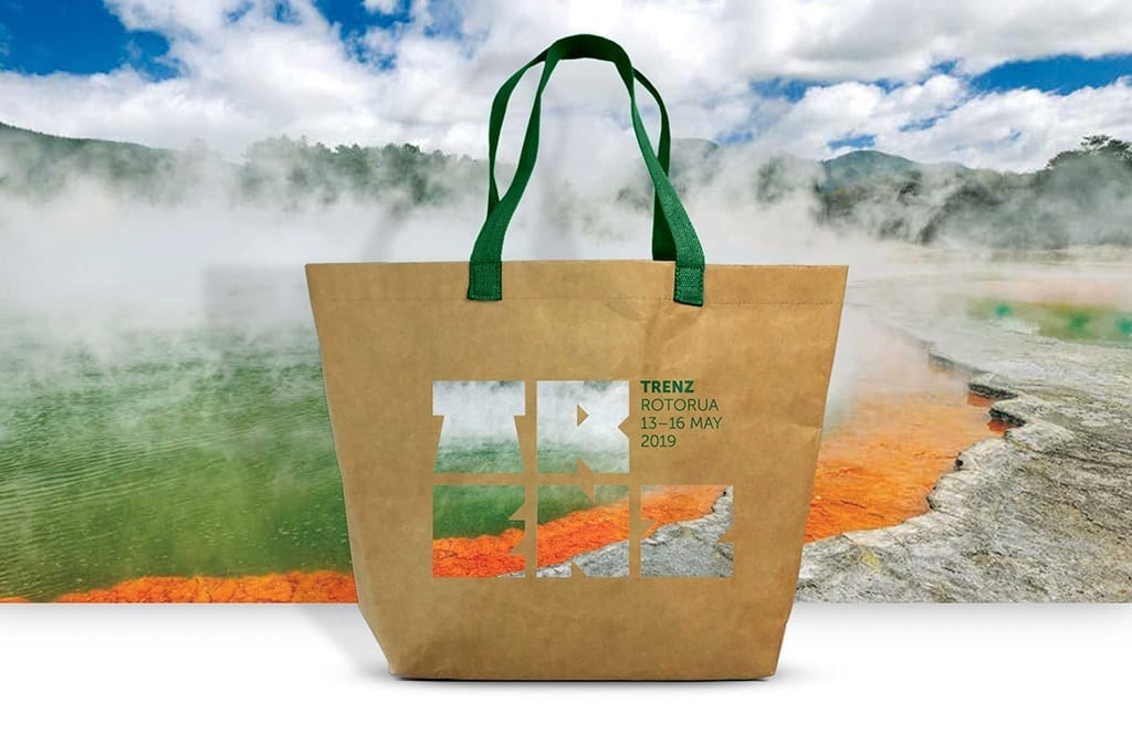 Trenz Washable Paper Totes